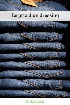 Le #prix d'un #dressing peut varier d'un modèle à l'autre, mais aussi en fonction des accessoires complémentaires qui le composent.