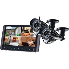 LOREX LW2962H 9 Rechargeable LCD  2 Wireless 720p HD Cameras ** Read more reviews of the product by visiting the link on the image.Note:It is affiliate link to Amazon.