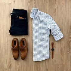 Perfect business casual outfit for men.