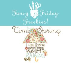 Free Downloads | featuring the Time for Spring collection by  Fancypantsdesigns.com