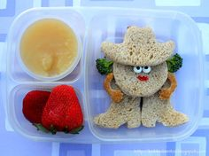 Cowgirl Bento in Easy Lunchboxes