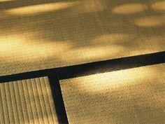 Japanese tatami mat.