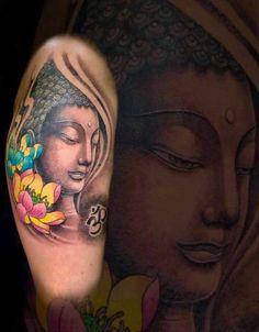 Buddha tattoo Koh Tao Bamboo Tattoo,Thailand,Koh Tao,Artist Nui Bamboo,facebook Bamboo nui Bamboo Tattoo, Koh Tao, Buddha, Thailand, Facebook, Portrait, Tattoos, Artist, Tatuajes