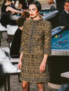 Chanel work outfit