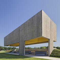 This pavilion was inspired by Mexican beach huts
