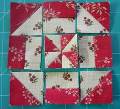 lovetostitch:make this block from a larger pinwheel