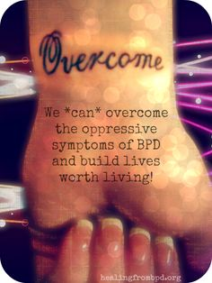 Healing From BPD: A journey of living with and healing from borderline personality disorder with dialectical behavior therapy (with Debbie Corso). Mental Disorders, Bipolar Disorder, Bipolar Humor, Bpd Diagnosis, Bpd Quotes, Bpd Symptoms, Recovery Tattoo, Depression Awareness, Mental Health Crisis