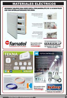 Electricidad Lussich - Famatel / Electro Sydney - Kalop