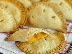 ginger peach hand pies | The Kitchn