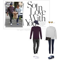 Jamie Dornan & Amelia Warner by clo-egral on Polyvore featuring polyvore, Oasis, Chanel, J.Crew, Wood Wood, adidas Originals, fashion, style and clothing