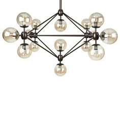 Pendant for my bedroom. Atelier at Bouclair. Globe Ceiling Light, Lamp Light, Ceiling Lights, Bedside Lamps Grey, Floor Lamp With Shelves, Floor Lamps, Bouclair, Deco Luminaire, Lamp Makeover