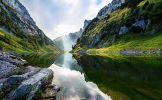 Lac de Fählensee (Suisse) par Burim Muqa