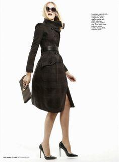 Get Into Shape | Malene Knudsen | Daniel Gabbay #photography | Marie Claire UK September 2012
