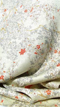 kimono fabric / yuzen shibori