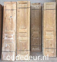 Setjes oude deuren, Series kast deuren, Dubbele deuren