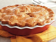 """Pillsbury pie crust makes this sweet apple-cinnamon dessert extra easy—just 15 minutes of prep time before it goes in the oven! Betty member DianeANP says, """"My new favorite apple pie recipe. It didn't drip out either, like so many other pies, but it wasn't dry. I used Honeycrisp apples and they were terrific."""""""