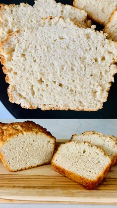 This is a new take on beer bread but made with kombucha instead of beer. This fluffy bread has a slightly sweet taste and pairs well with salads, soups, chilli, or really with almost any meal. Vegan Butter, Nut Butter, Homeade Bread, No Rise Bread, Hawaiian Rolls, Beer Bread, Just Bake, Cake Flour, Coconut Cream