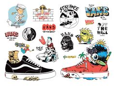 """VANS """"OFF THE WALL"""" on Behance"""
