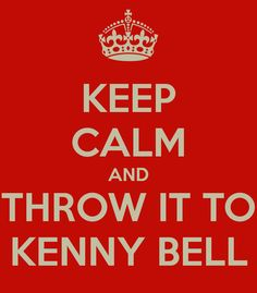 KEEP CALM AND THROW IT TO KENNY BELL