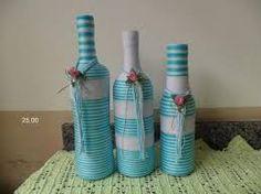 Resultado de imagen de garrafas decorativas