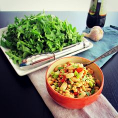 Argentine Inspired White Bean Salad