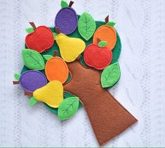 Felt toddler Sensory board Travel toy Fine motor skills Fabric quiet game Felt educational toy Busy bag Tree with velcro patch Kids toy Best Kids Toys, Toys For Boys, Educational Toys For Preschoolers, Sensory Book, Felt Tree, Felt Quiet Books, Travel Toys, Montessori Toys, Busy Book