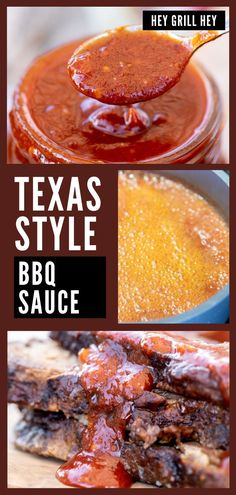 This Texas BBQ sauce is a rich sauce that is perfect served on just about any BBQ you've got cooking on the grill or smoker. Drizzle it on smoked brisket, or spoon it over some ribs, you'll fall in love with this sauce after the first bite.