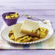 Unser beliebtes Rezept für Johann Lafer bei Lafer! Lichter! Lecker!: Tiramisu-Parfait mit Mango-Passionsfrucht-Kompott und mehr als 55.000 weitere kostenlose Rezepte auf LECKER.de.