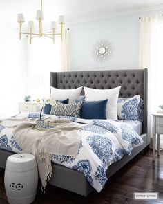 NEW MASTER BEDROOM BEDDING | Master bedroom, Linens and Bedrooms