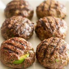 Burgers just don't get any better than this! Stuffed with creamy avocado and smooth, spicy mayo, this is a beef patty that's sure to satisfy!