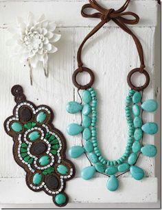 Boho Turquouise Jewellery
