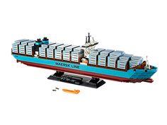 """Construye el buque de contenedores """"Triple-E"""" de Maersk: ¡un verdadero gigante de los mares!"""
