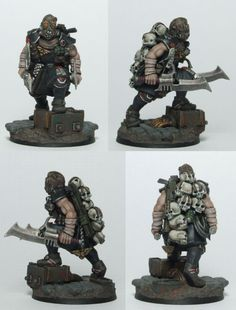 Mutant head hunter