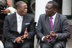 Zimbabwe ex-army boss sworn in as V-P; Mugabe granted diplomatic status - The Globe and Mail