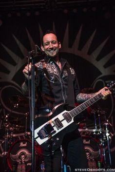 Michael Poulsan - Volbeat - Houston - 9-19-13 Rock Allegiance Tour