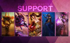 League of Legends Support 1e