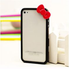 hello-kitty iPhone cover...if only they made these for my Android ;)
