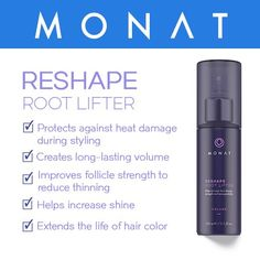 An alcohol-free, amplifying spray that enhances lift at the roots for long-lasting, high impact volume!
