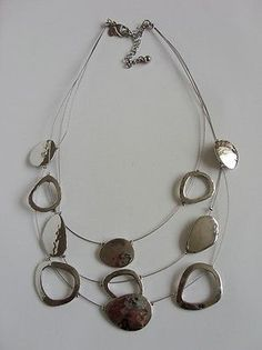 Strand Necklace, Strands, Baby Items, Fashion Outfits, Bracelets, Silver, Ebay, Shopping, Jewelry