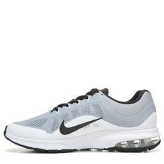 9a0eb2219b7a Nike Men s Air Max Dynasty 2 Running Shoes (Grey White Black) -