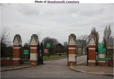 Wandsworth Cemetery thanks to julia&keld for the photo