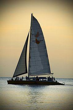 Sailing off Barbados