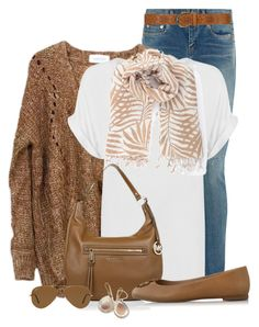 """""""Comfortable and Casual"""" by cathy0402 on Polyvore featuring moda, Yves Saint Laurent, WearAll, Woolrich, Dorothy Perkins, Michael Kors, Ray-Ban, Tory Burch e Ippolita"""