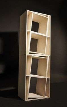 stacked chairs = shelving