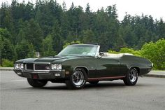 1970 Buick Convertible Maintenance of old vehicles: the material for new cogs/casters/gears/pads could be cast polyamide which I (Cast polyamide) can produce Old American Cars, American Muscle Cars, Us Cars, Sport Cars, Convertible, Buick Gsx, Automobile, Car Man Cave, Buick Cars