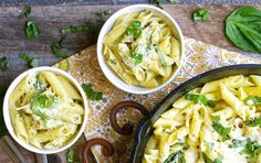 One-Pan Creamy Pesto Penne | Recipe