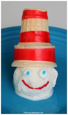 The Cat in the Hat Ice Cream Sundaes for Kids!