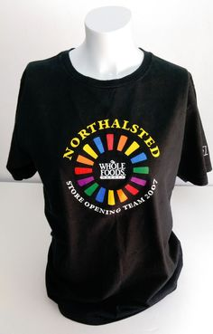 Whole Foods Market NortHalsted Chicago MEDIUM Opening T-Shirt Halsted Gay Pride #Anvilorganic #GraphicTee #northhalsted #gaypride #wholefoods