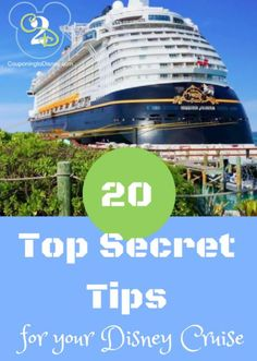 A Disney Cruise is an amazing experience, however one that is much different than Disney World. For guests that have not boarded a Cruise may feel overwhelmed. However, by using these 20 secret tips, guests can be in the know for their next or first Disney Cruise! Free Room service 24/7, try the buffalo wings …