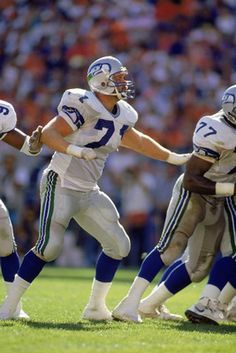 Guard Bryan Millard  71 of the Seattle Seahawks Seahawks Football 67ce67a71